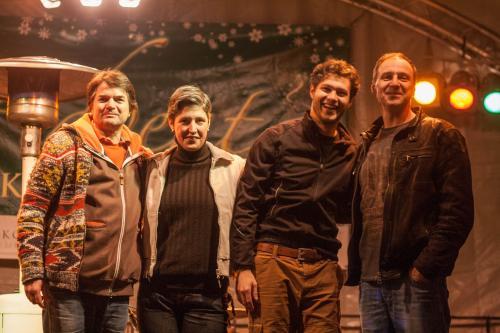 Rock Lívia Acoustic fellépésen